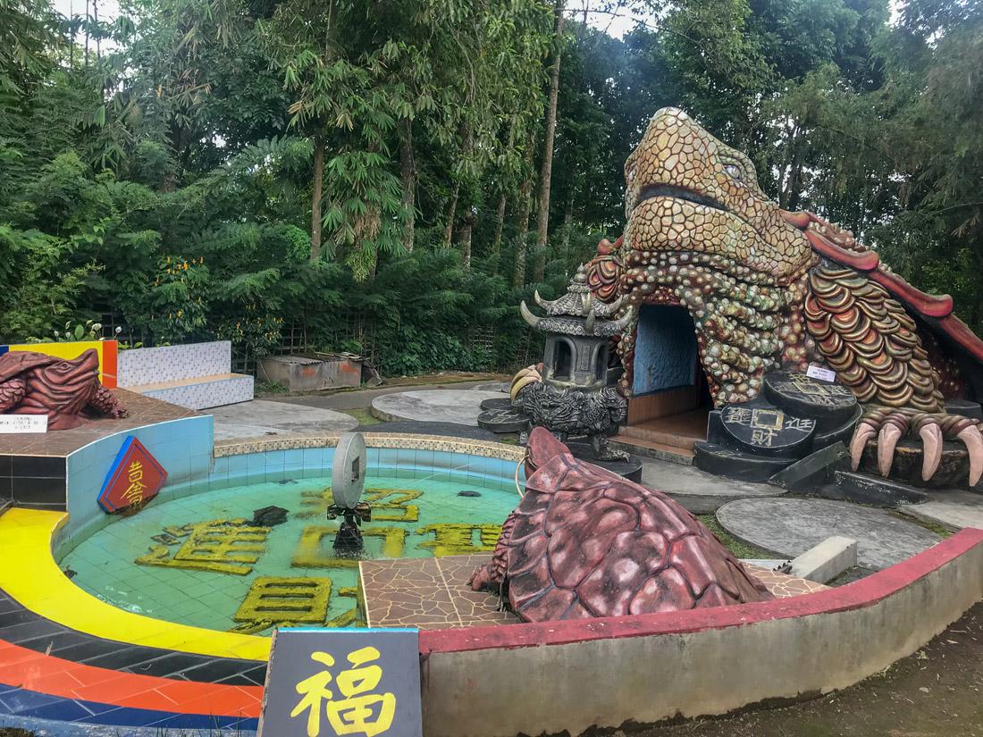 Tomohon Sulawesi Indonésie Buddha Temple
