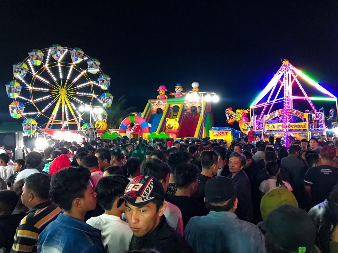 Tomohon Sulawesi Indonésie fête attraction
