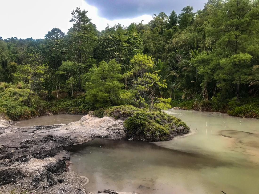Tomohon Sulawesi Indonésie Hots springs nature