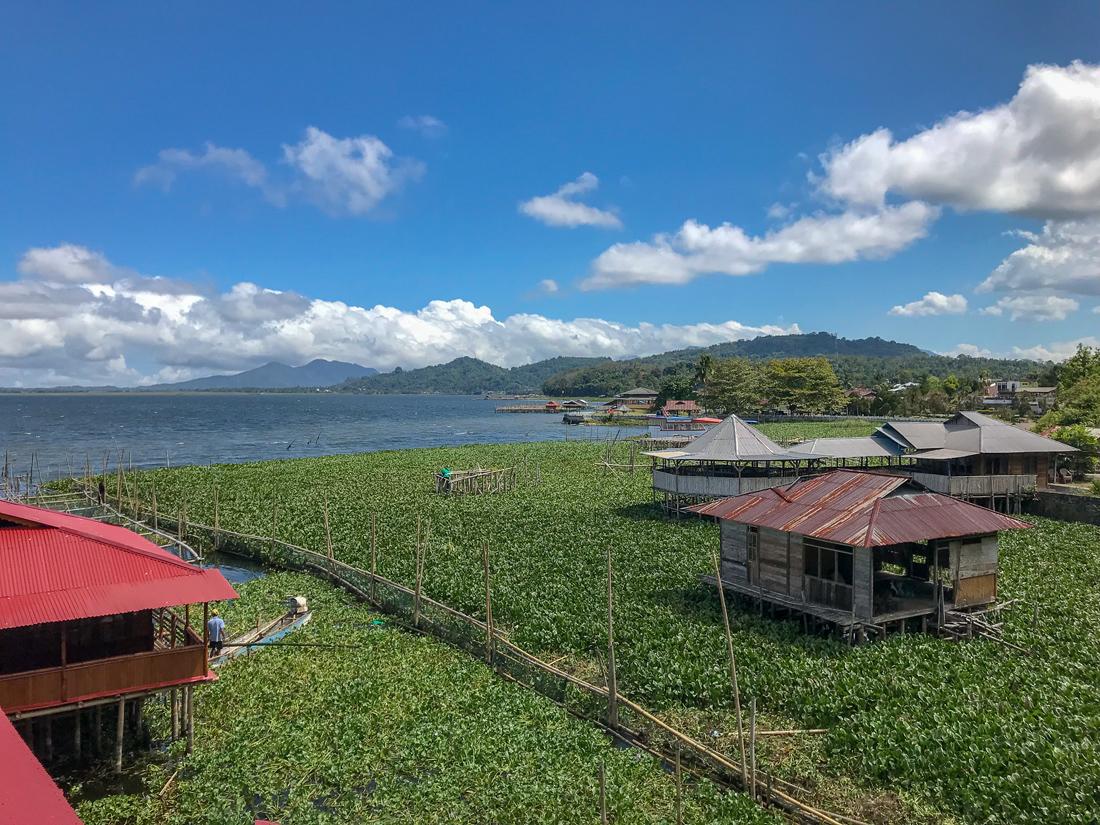 Tomohon Sulawesi Indonésie Lac Tondano