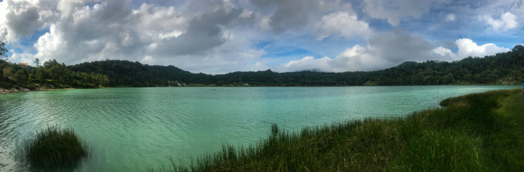 Tomohon Sulawesi Indonésie Lac Linow