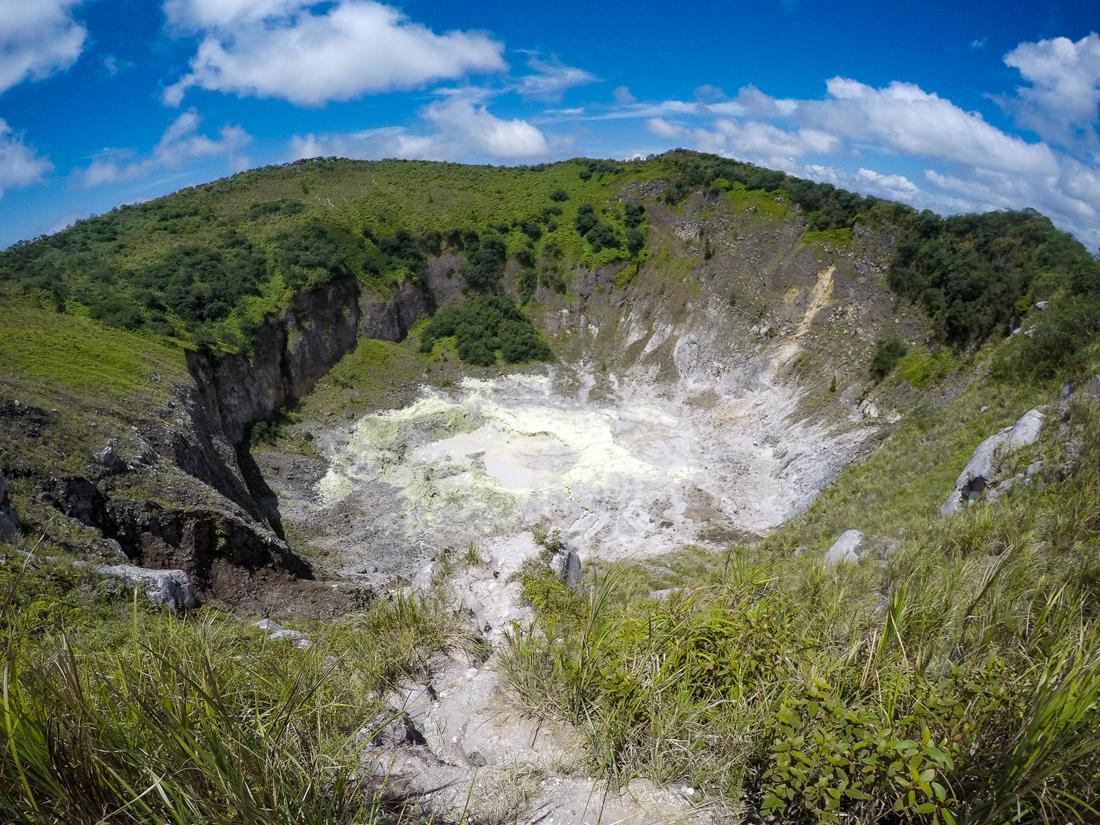 Tomohon Sulawesi Indonésie Volcan Mahawu
