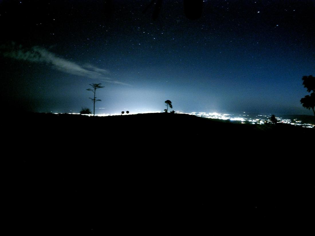 Tomohon Sulawesi Indonésie Tetetana nuit