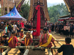 Sulawesi Indonésie Toraja cérémonie funéraire