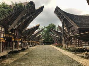 Sulawesi Indonésie Toraja KeTeKeSu Tongkonan