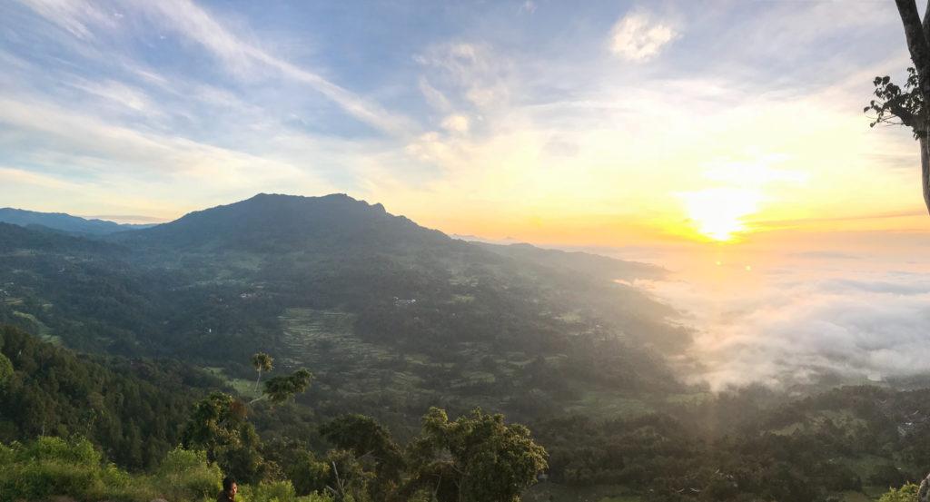 Sulawesi Indonésie Toraja Lolai vue