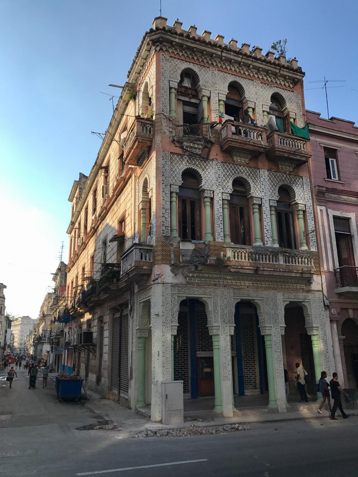 Vieil immeuble de la Havane
