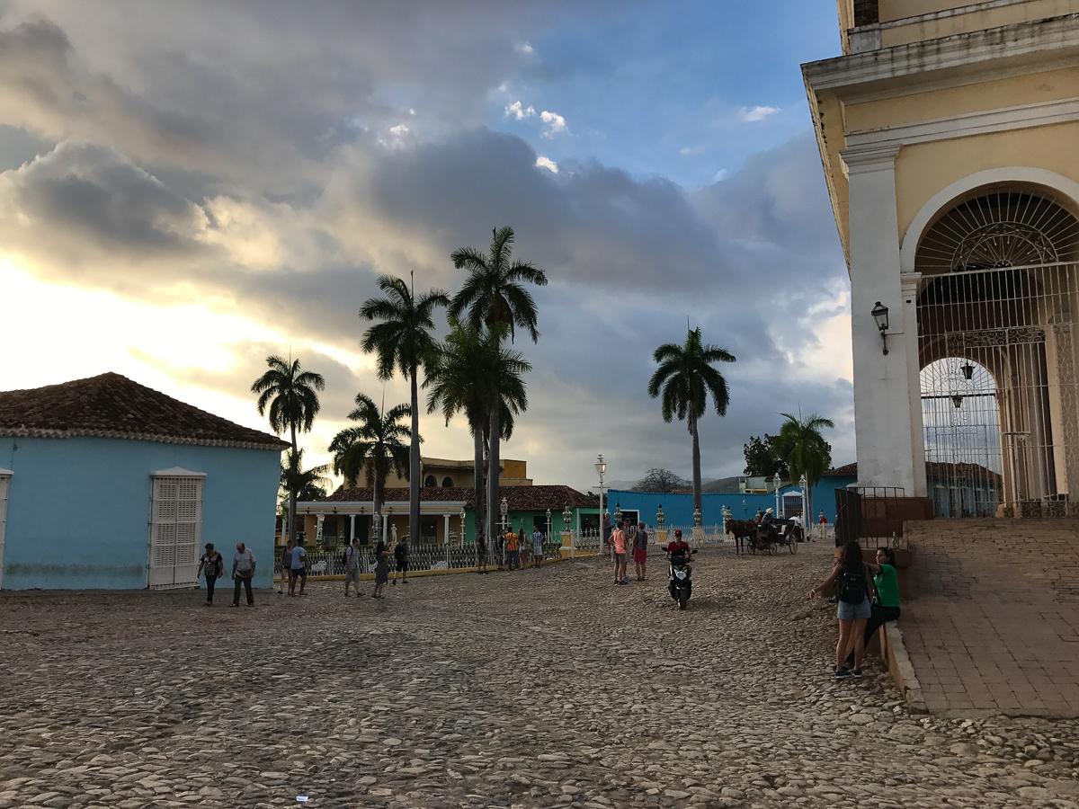 Place de l'église de Trinidad