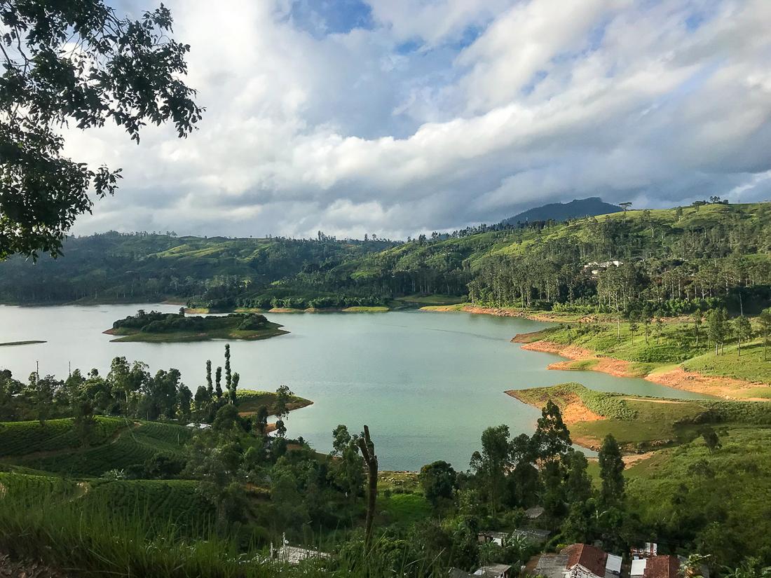 Sri Lanka Adam's Peak Maskeliya Paysage