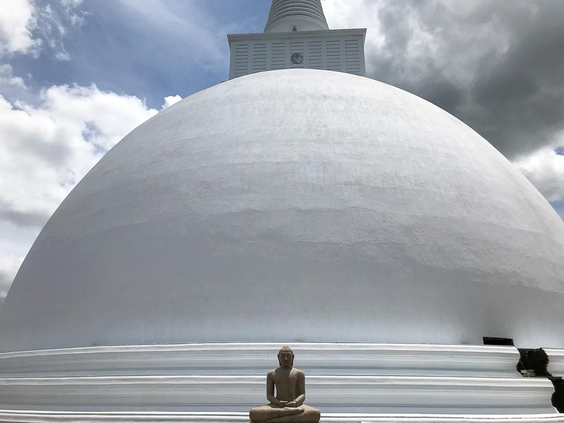 Sri Lanka Anuradhapura Mirisavatiya Stupa