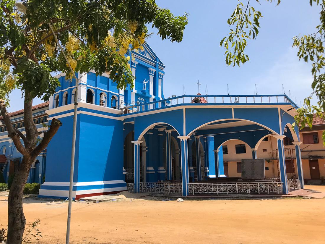 Sri Lanka Batticaloa Sainte Mary's Cathédrale