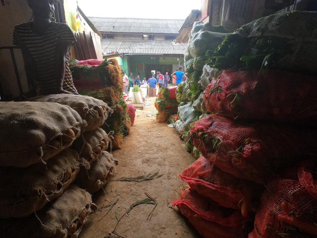 Sri Lanka Colombo Manning Market Legumes Marché