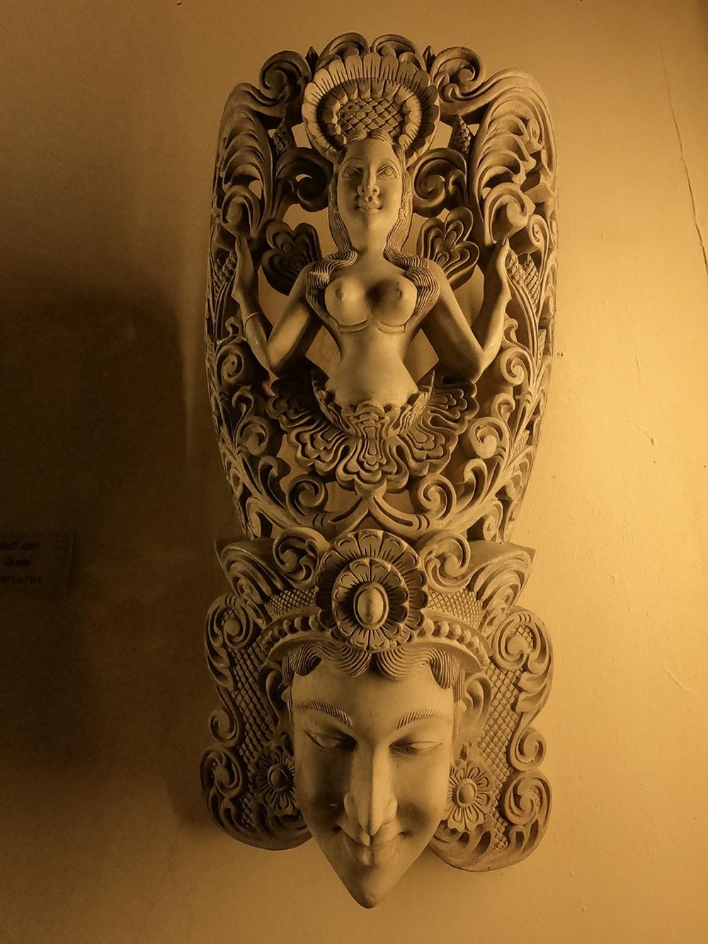Sri Lanka Colombo Musée Masque