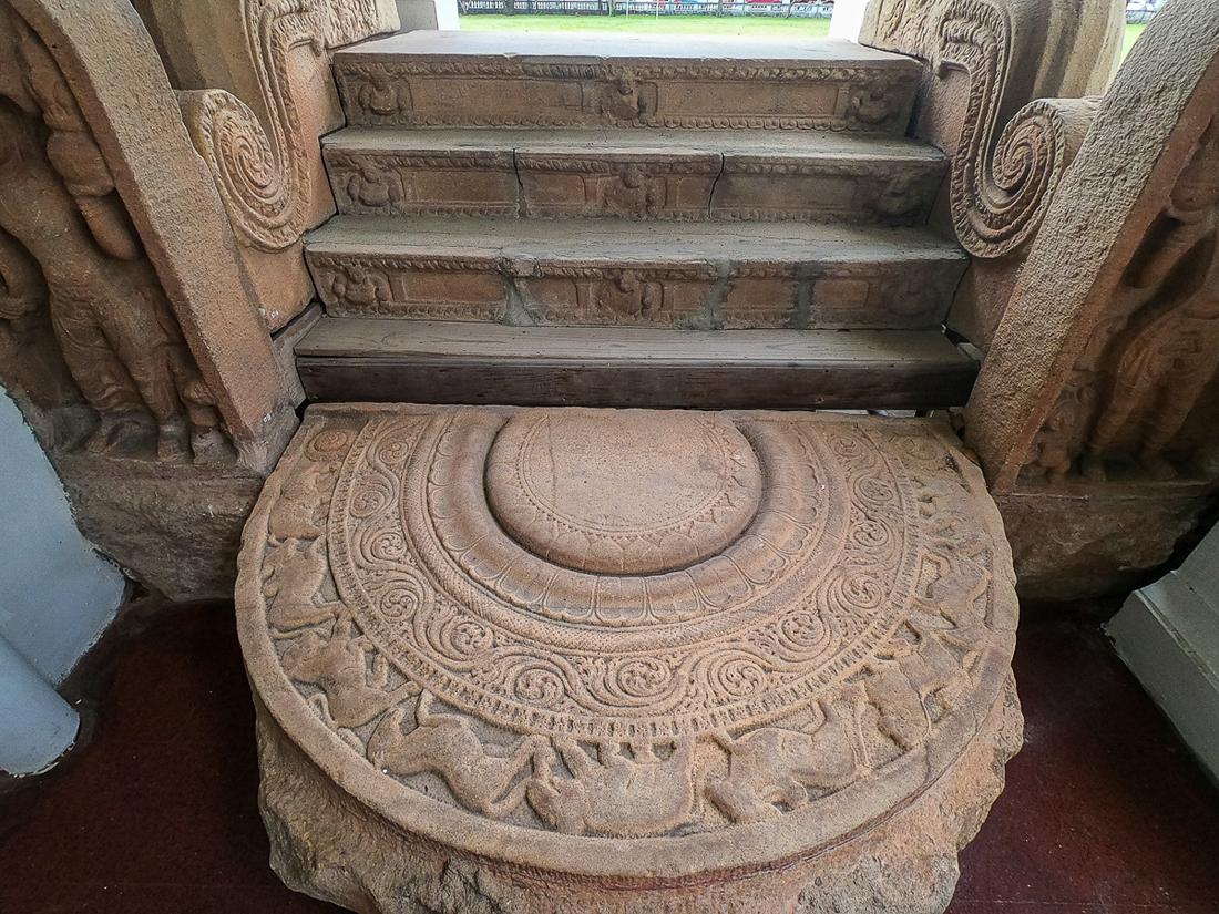 Sri Lanka Colombo Musée Moonstone