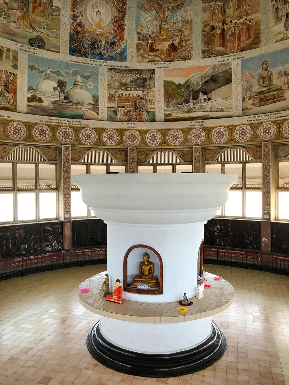 Sri Lanka Colombo Sambodhi Chaitya Stupa