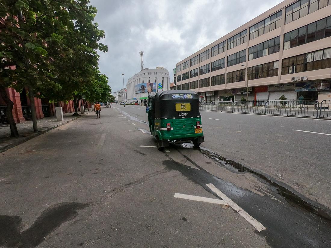 Sri Lanka Colombo Tuk Tuk Uber
