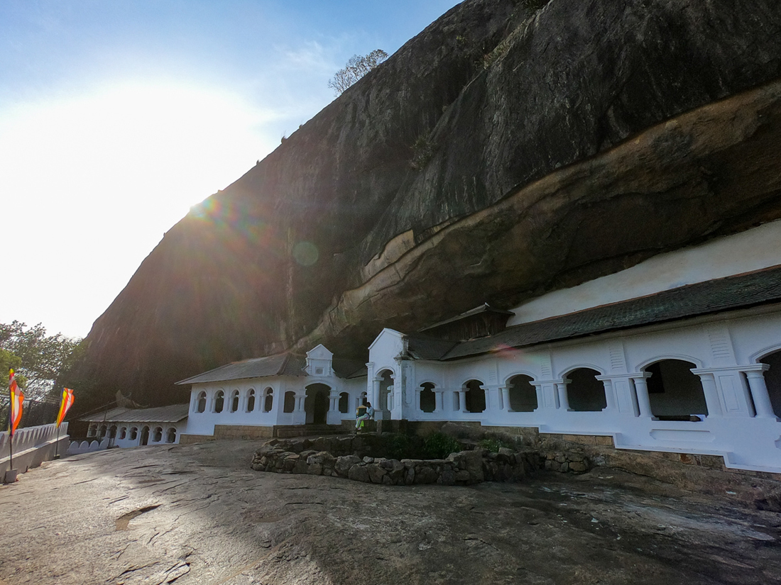 Sri Lanka Dambulla Cave Temple Bouddha