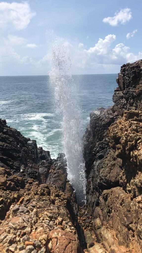 Sri Lanka Dikwella Blue Hole