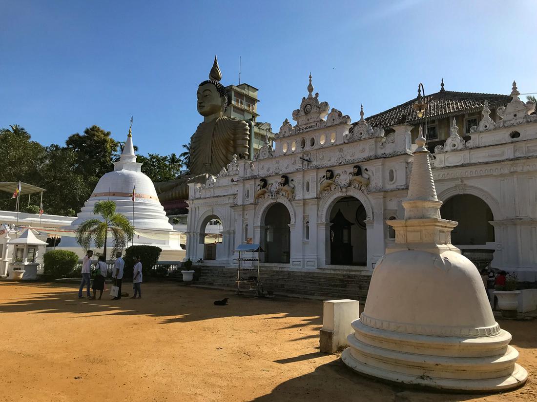 Sri Lanka Dikwella Temple Wewurukannala