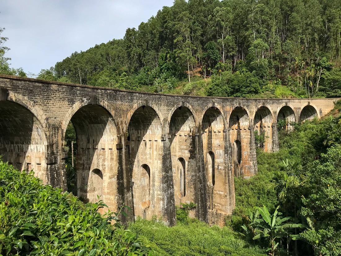 Sri Lanka Ella 9 arches bridges Pont Train