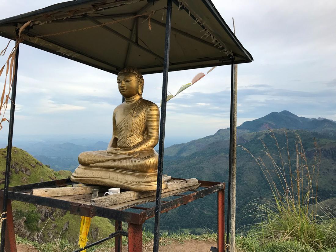 Sri Lanka Ella Little Adam's Peak Bouddha
