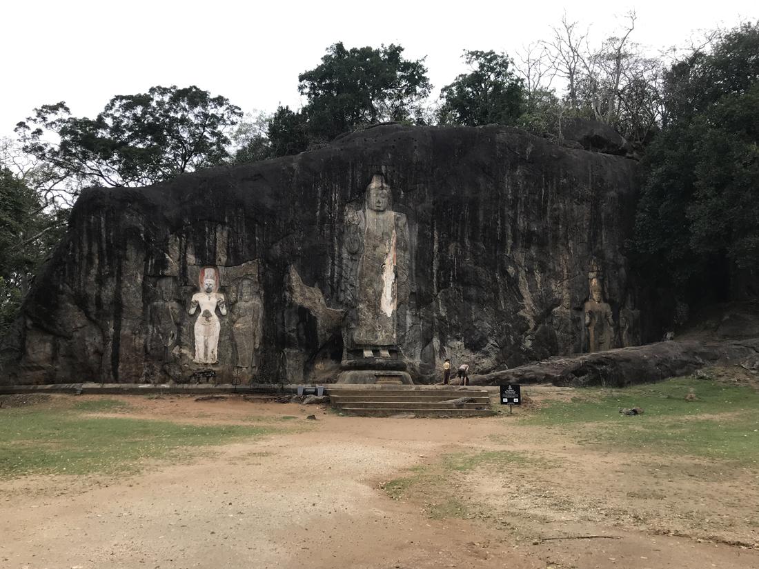 Sri Lanka Buduruwagala Statue Bouddha