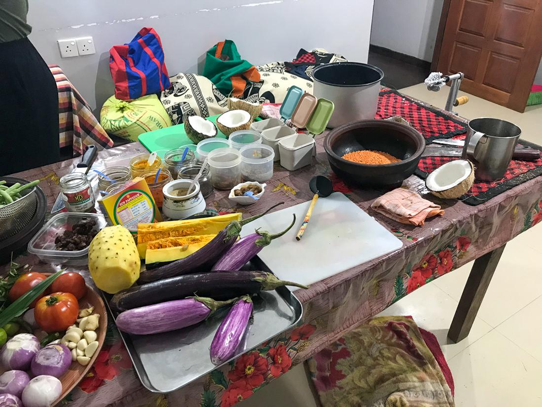 Sri Lanka Ella Cours de cuisine Honey bee garden