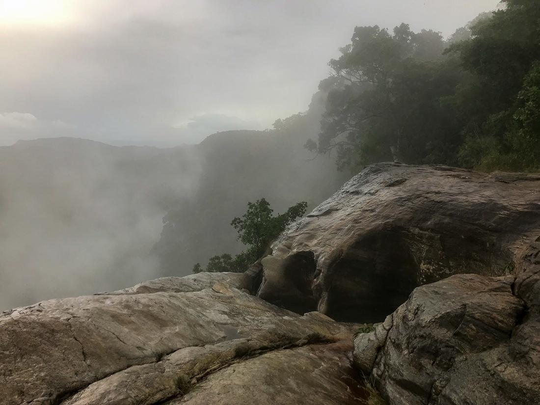 Sri Lanka Diyakuma falls Cascade