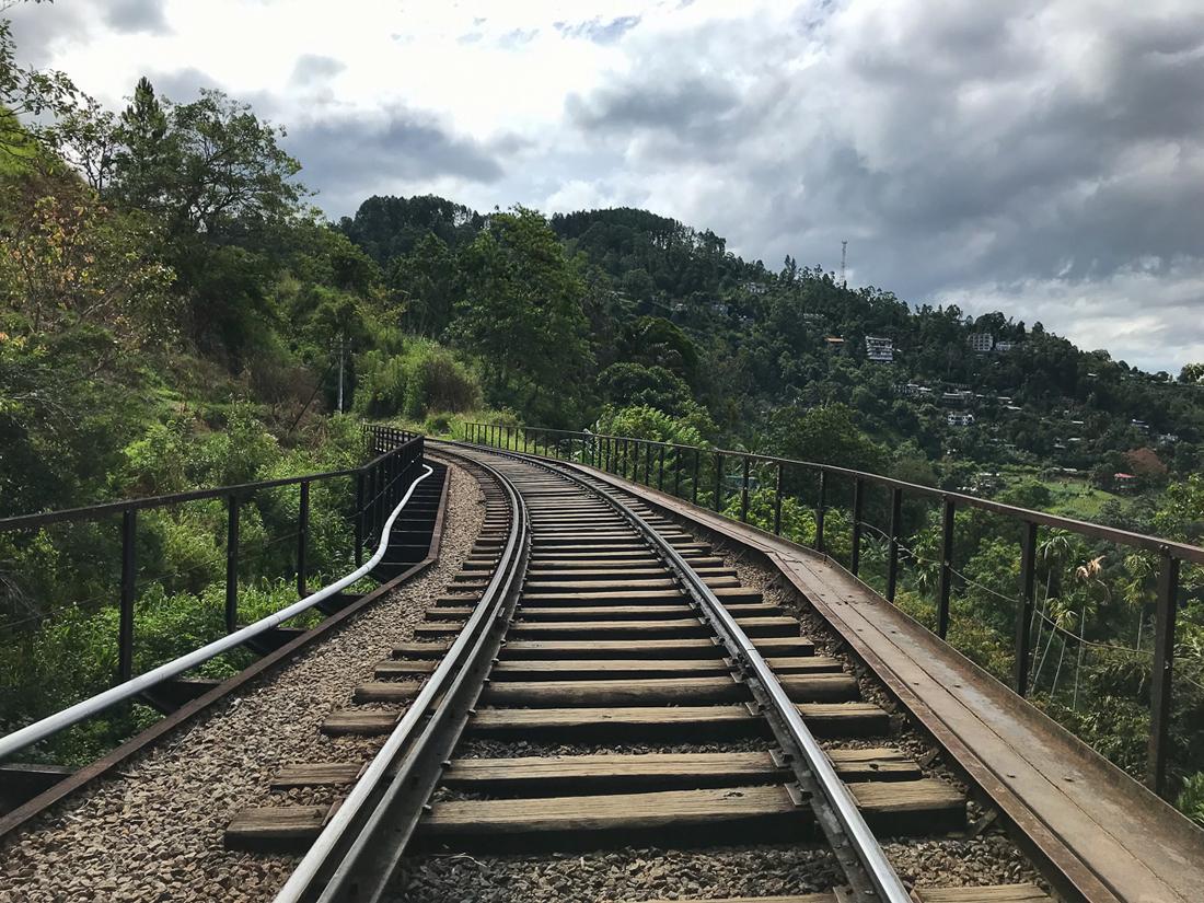 Sri Lanka Ella Rail Train Randonnée Trek Railway