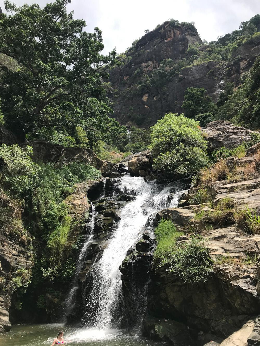 Sri Lanka Ella Rawana falls