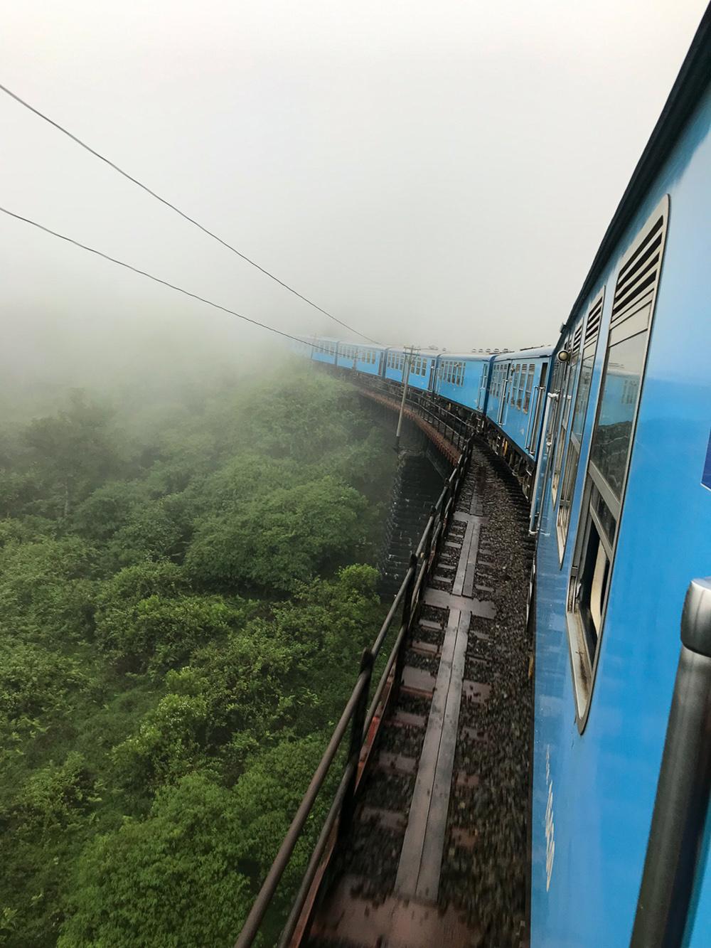 Sri Lanka Haputale Train Rail