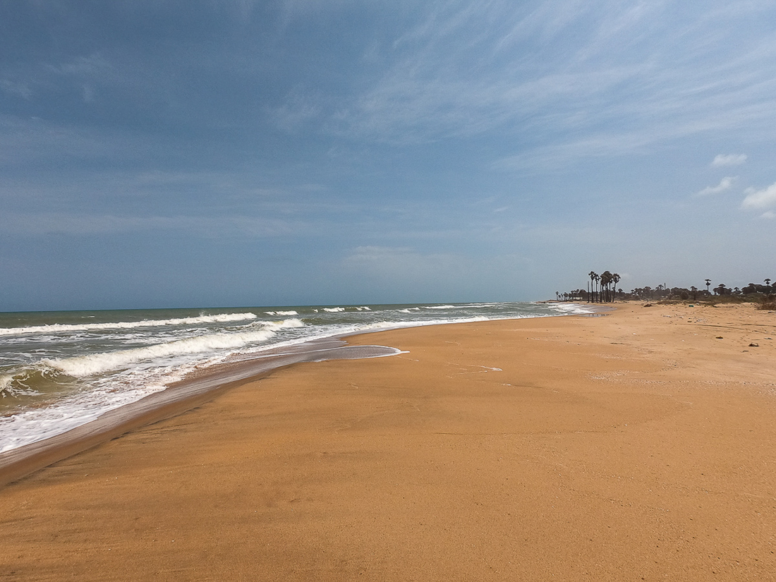 Sri Lanka Kalpitiya Kandakuli Plage