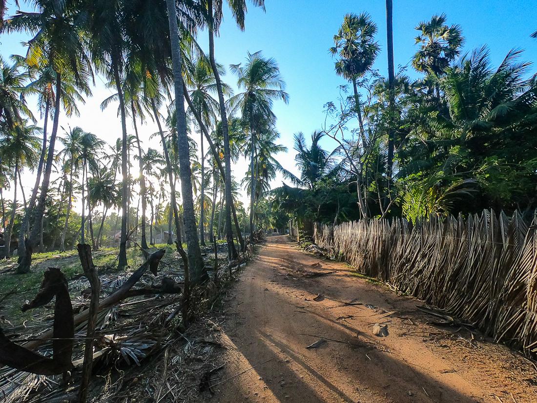 Sri Lanka Kalpitiya Kandakuli Village