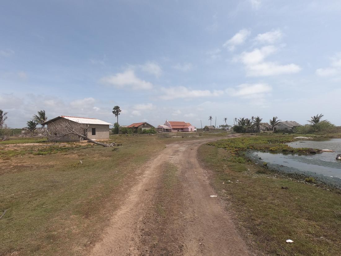Sri Lanka Kalpitiya Kandakuli village abandonné