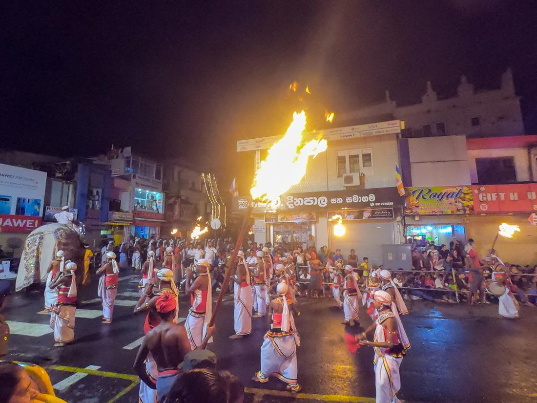 Sri Lanka Kandy Fête Esala Perahera