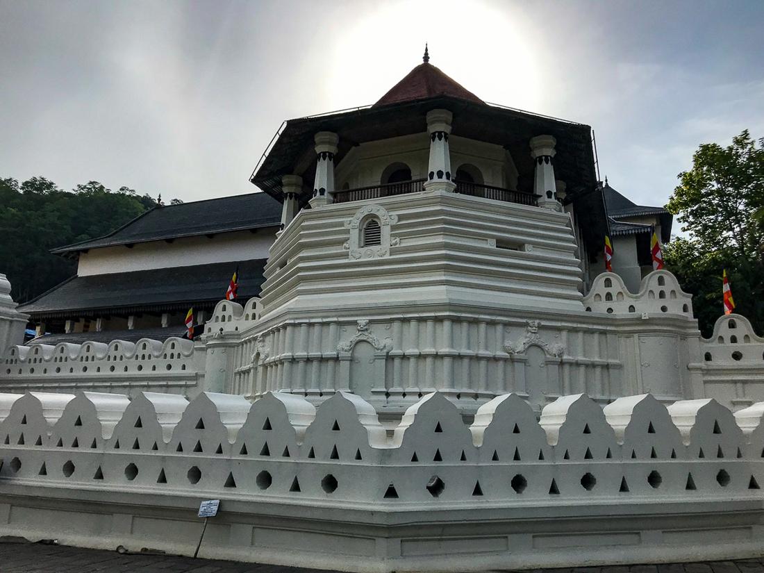 Sri Lanka Kandy Temple de la dent Bouddha Relique