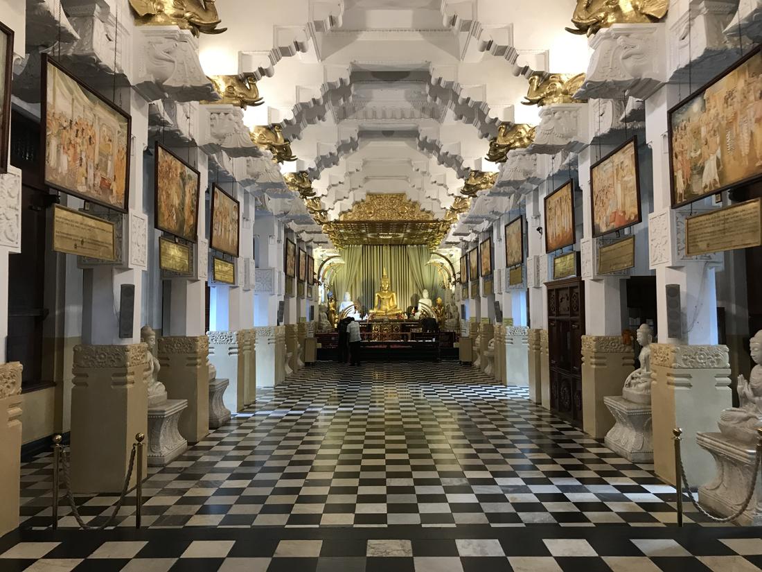 Sri Lanka Kandy Temple de la dent Bouddha Relique Bouddha