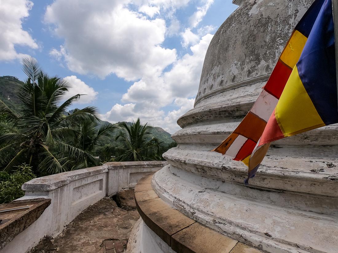 Sri Lanka Matale Temple Bouddha Stupa