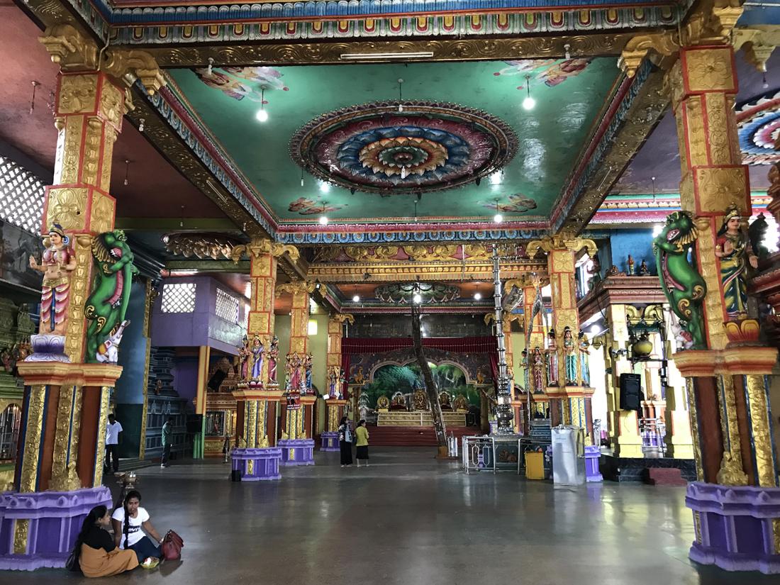 Sri Lanka Matale Sri Muthumariamman Temple Hindou