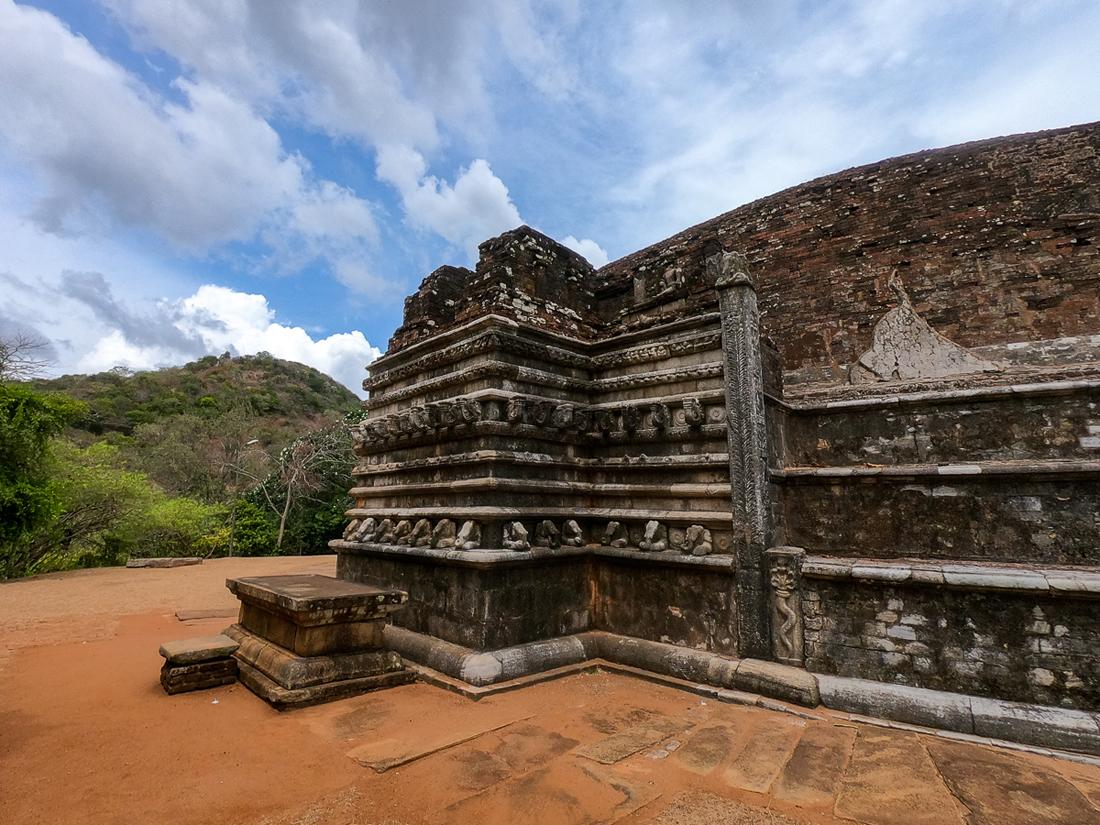 Sri Lanka Mihintale Stupa Kantaka Chetiya