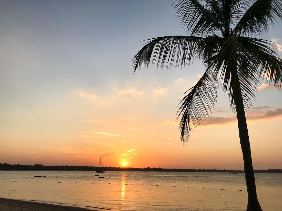Sri Lanka Passikudah Sunset Coucher de soleil