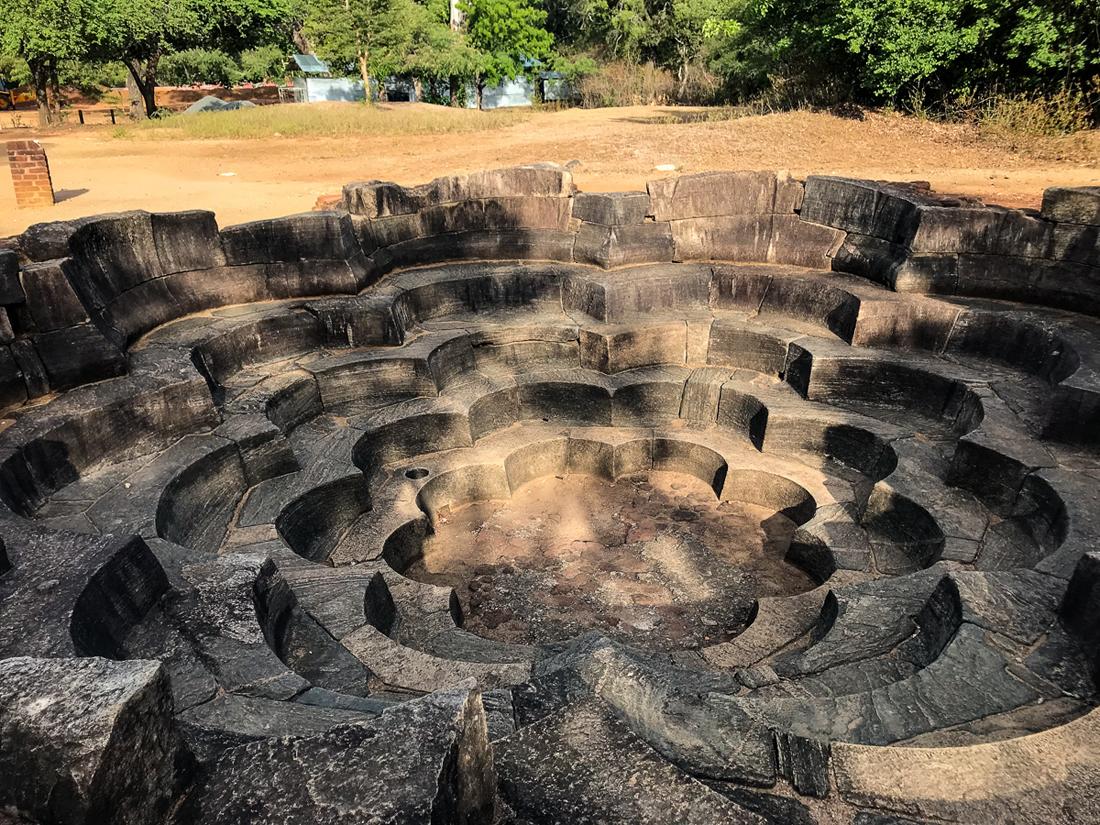 Sri Lanka Polonnaruwa Lotus Pond