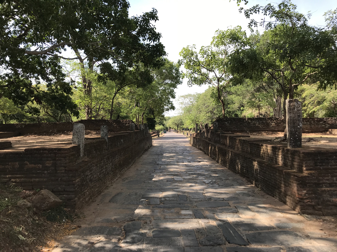 Sri Lanka Polonnaruwa Porte Nord Ruine
