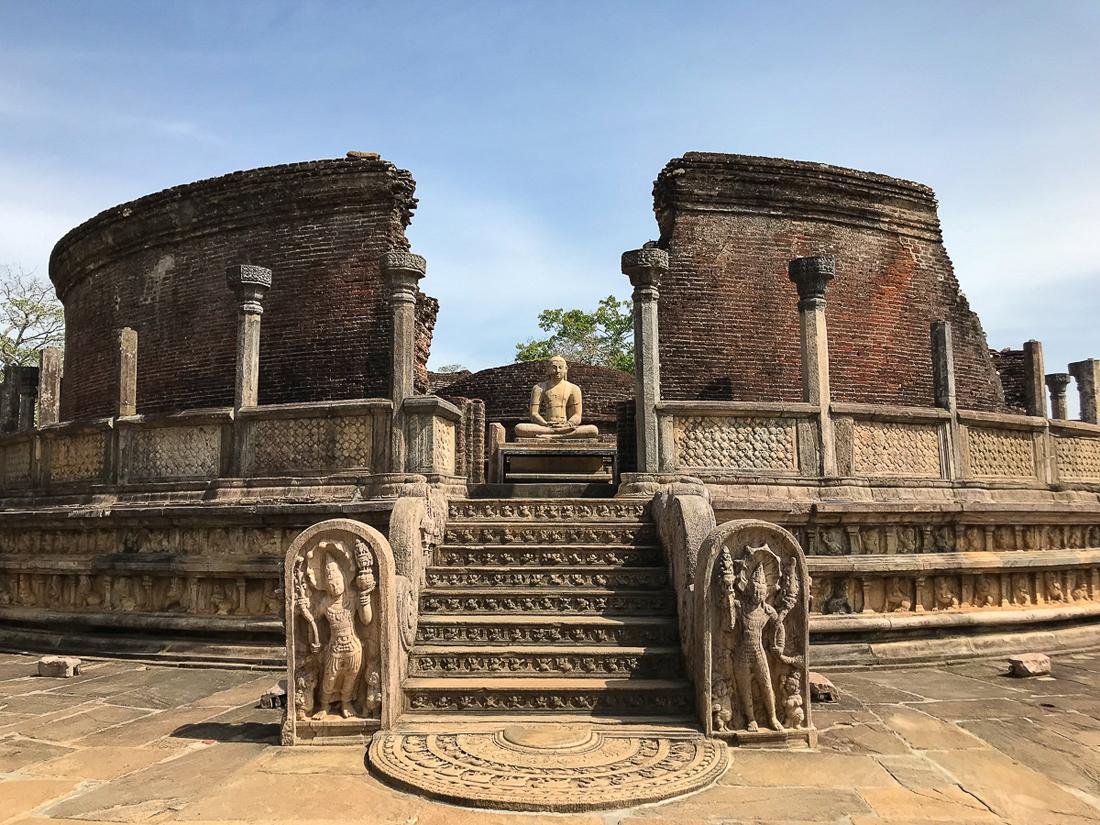 Sri Lanka Polonnaruwa Temple Vatadage