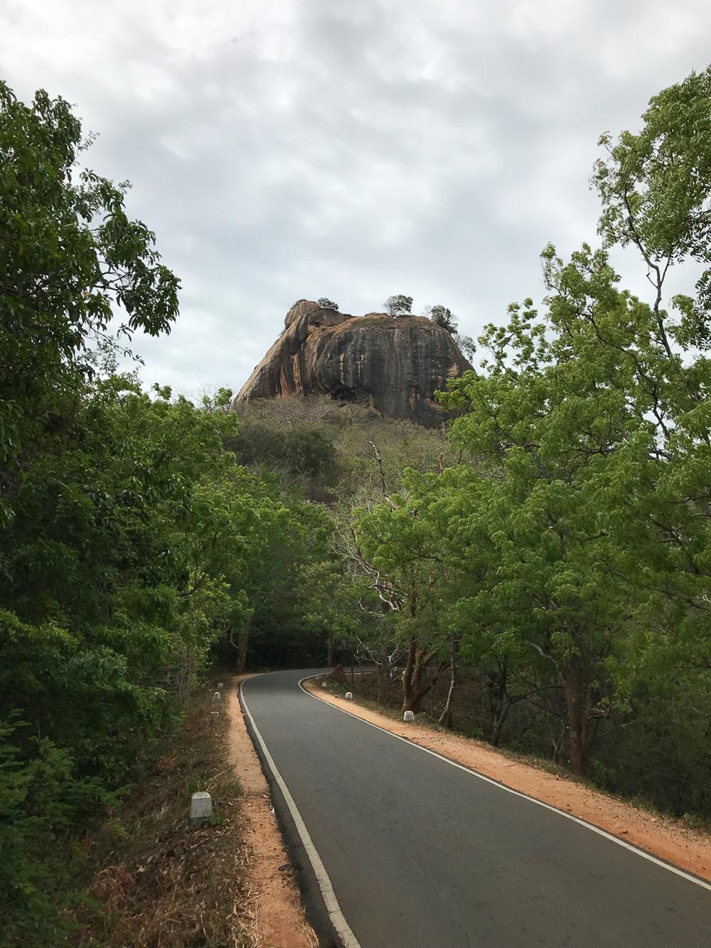Sri Lanka Sigiriya Lion Rock Route