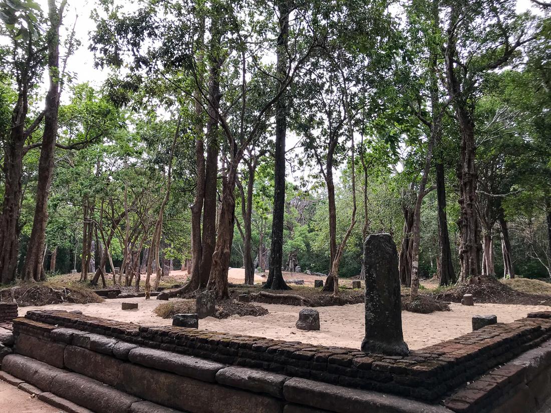 Sri Lanka Sigiriya Pidurangala Ruines