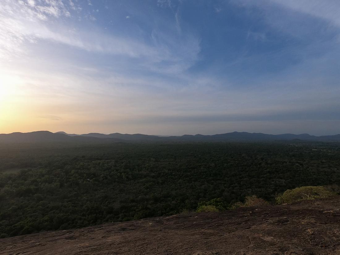 Sri Lanka Sigiriya Pidurangala Lever de soleil
