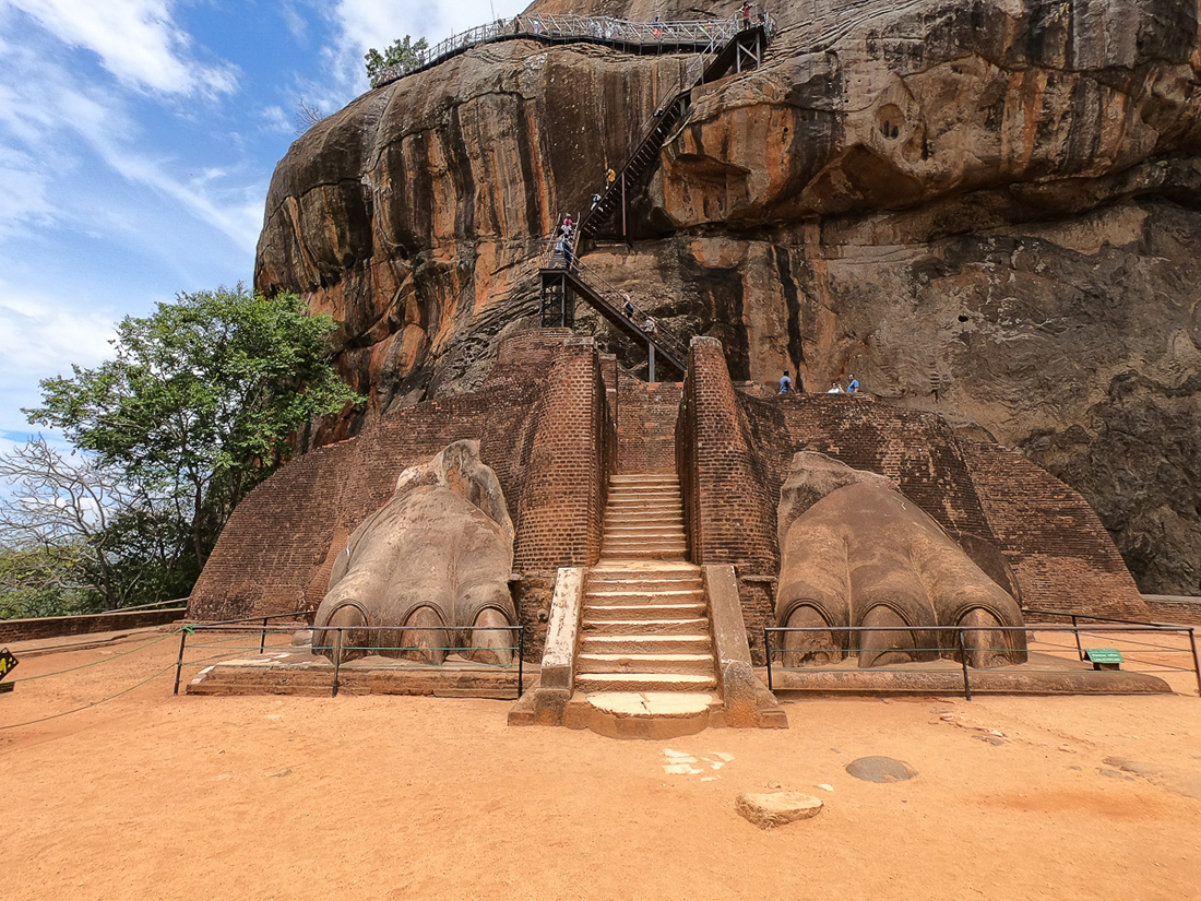 Sri Lanka Sigiriya Lion Rock
