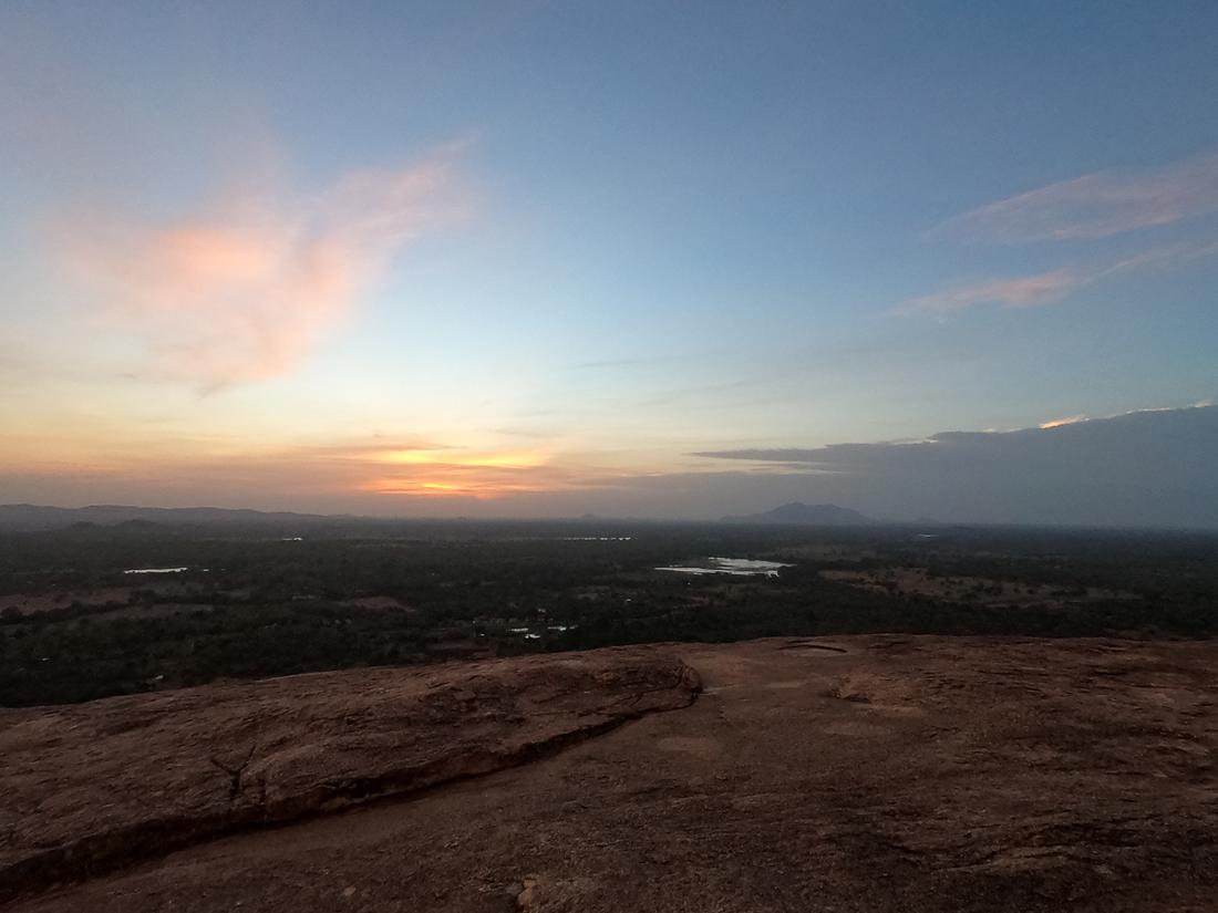 Sri Lanka Sigiriya Lion Rock Pidurangala Sunset