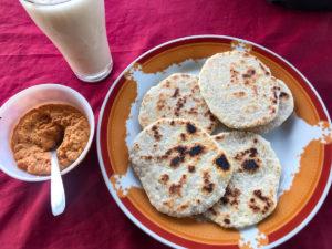 Sri Lanka Trincomalee Nilaveli Petit déjeuner